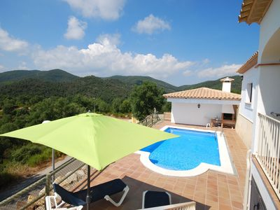 Comfortable, detached villa with private pool in Calonge