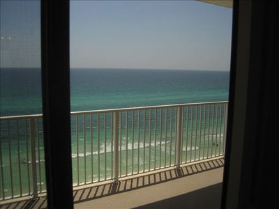 Beach view from master suite