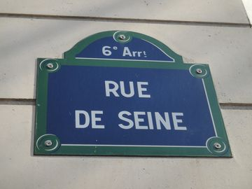 Rue De Seine near St Germain Blvd, prestige address!