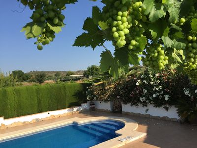3 bedroomed peaceful villa with private pool and picturesque views in Ayora