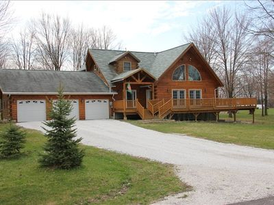 1 Acre wooded lot, deck surrounds whole house 15ftx75ft. Quiet cul de sac.