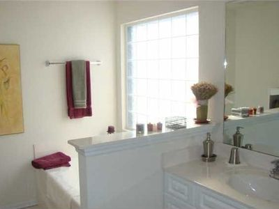 Master Bath with Gaden Tub and Shower...