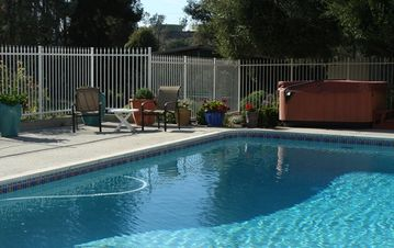 Temecula estate rental - Merlot House Pool