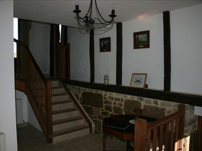 Vire cottage rental - Entrance Hall