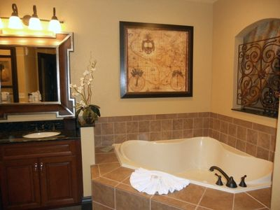 Jacuzzi tub in both master bathrooms