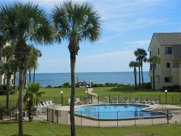 Crescent Beach townhome rental - Enjoy Ocean and Pool Views-- 150 feet from condo to Ocean