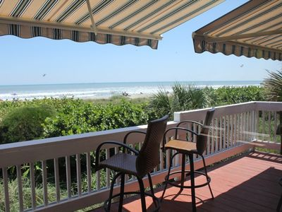 Cocoa Beach house rental - Deck view