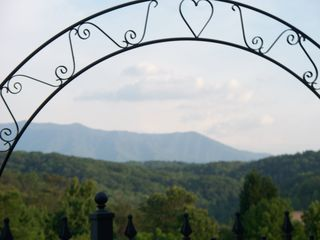 Gatlinburg cabin photo - Number 1 wedding view in the Smokies