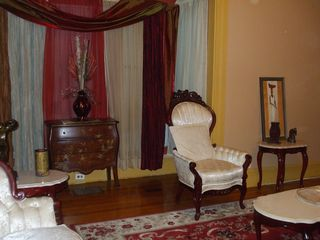 formal room with fireplace - Boston apartment vacation rental photo