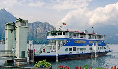 Lake Como Ferry - Photo by John Soule