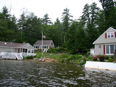 Property overview, Cottage A to the left