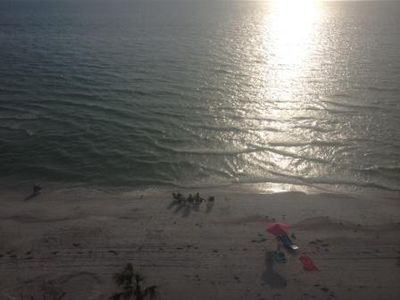 This is the view of the Gulf of Mexico taken from the balcony.