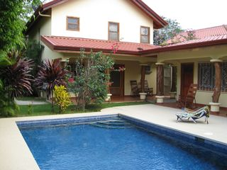 Nosara house photo - Large Pool with Tropical Gardens