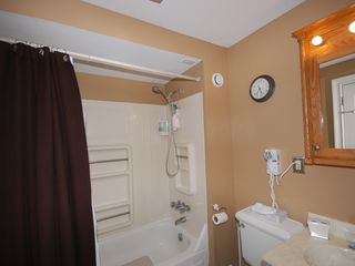 Logan Circle apartment photo - Bathroom has a full tub and shower combination