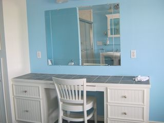 Galveston house photo - vanity in master bath