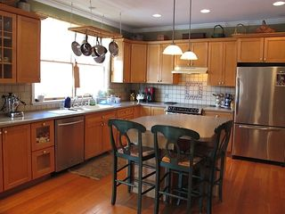 New Paltz house photo - Gourmet kitchen with all stainless appliances and all the tools you'll need!