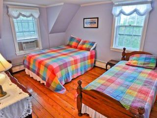 Edgartown house photo - Bedroom #2 - Queen Bed & Twin Bed. Second Floor