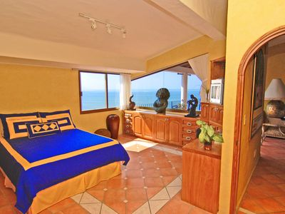 Puerto Vallarta condo rental - The 2nd Bedroom Is Spacious With A Gorgeous View To The Terraza and Ocean....