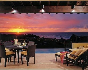 Sunset from the veranda of your private residence.