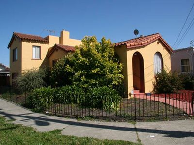 Large corner lot spanish style home