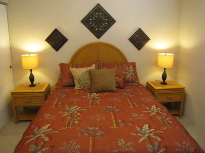 Maalaea condo rental - Comfortable bed room