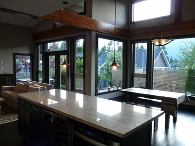 Ground - kitchen and dining area.