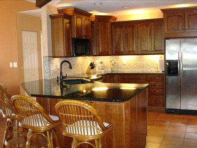Recently remodeled and updated kitchen, granite sink and counter tops
