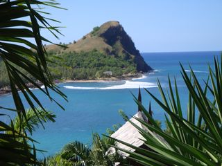 Pigeon Island National Park from top of driveway - Cap Estate villa vacation rental photo