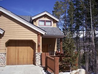 Breckenridge townhome rental - Just to the right, balry mountain. And just to the left- Snowflake lift!
