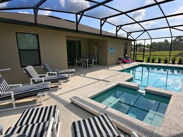 Rear View of Pool Deck
