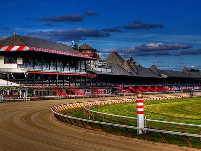 Saratoga Racetrack...world renowned!