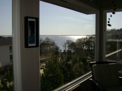 Currituck Sound. View from sunroom