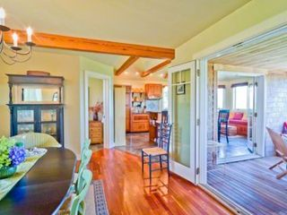 Gayhead - Aquinnah house photo - Dining Room Also Opens Out To Screened Porch