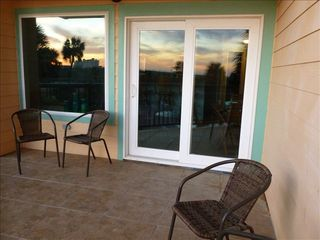 Galveston condo photo - Sunset in Galveston is awesome when you are on a private balcony