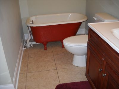 2nd Floor Hall Bath with Childs Tub.