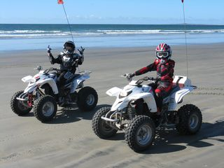 San Quintin house photo - Good times on the quads.