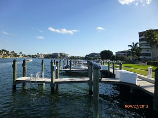 South Seas Club condo photo - Rentable boat docks & 1 mile board walk on back bay