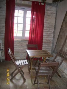 Marmande area farmhouse rental - the old kitchen
