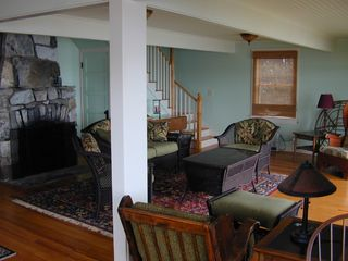 Cape Neddick house photo - Living Room