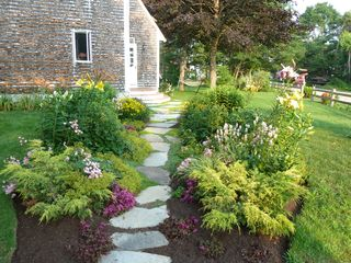 Biddeford house photo - Abundant flower gardens.