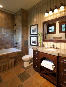 Junior Master Suite Bathroom