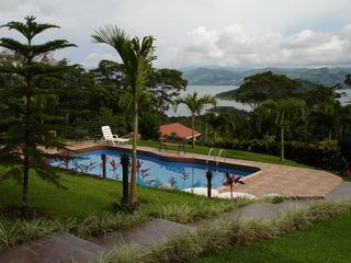 Nuevo Arenal estate photo - Our Beautiful Pool with Majestic Views