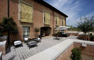 Zamora Province villa photo - The Hunting Lodge: The private terrace of the suite.