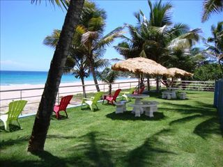 Arecibo villa photo - Stress free....Beach Backyard view