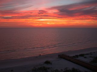 Clearwater Beach condo photo - Watch the sun set from your balcony