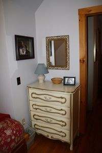 ...and has small dresser