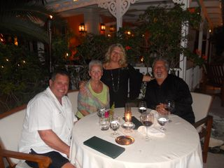 Providenciales - Provo condo photo - Memorable dinner with friends at Grace's Cottage
