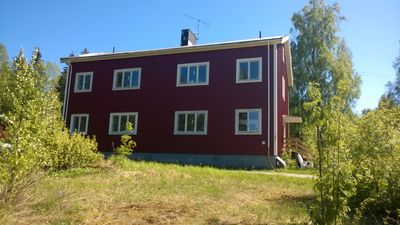 """holiday apartment """"Forest"""" in good location near the High Coast"""
