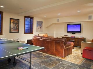 Crested Butte townhome photo - Media - Ping Pong