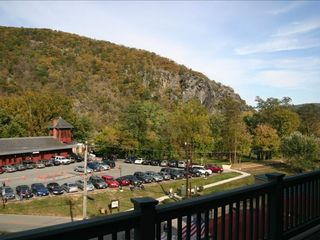 Harpers Ferry house photo - View from porch looking onto Maryland Heights